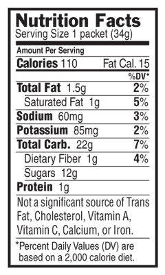 Chocolate Cherry Nutritional Facts