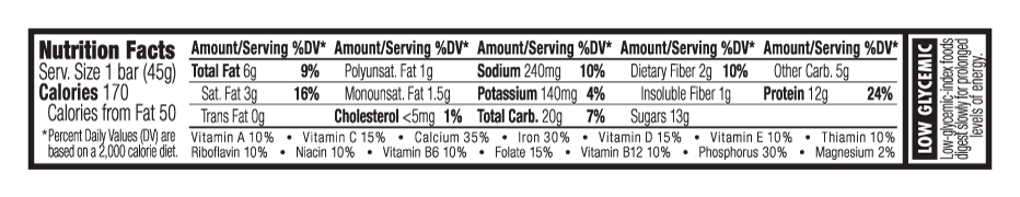 Chocolate Walnut Fudge Nutritional Facts