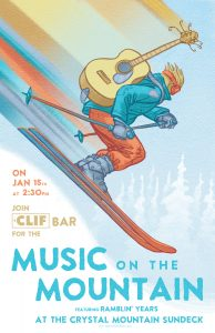 Clif Bar || Music on the Mountain logo