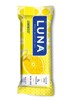 Luna Bar packaging